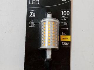 Feit Electric Bp100j78 led hdrp 100watt 8watt R7 78mm 800lu Dimmable 3000k
