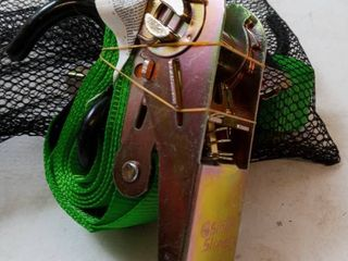 Pair of Smart Strap Ratchets w  Mesh Net Bag