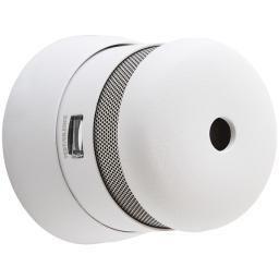 First Alert PR710E Slim Smoke Detector with Photoelectric Sensor and lED Escape light