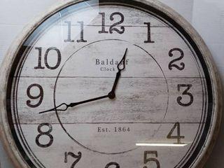 Baldauf Wall Clock  27  x 28