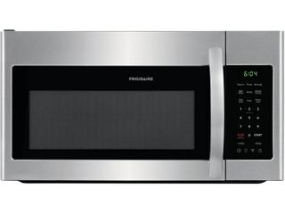 Frigidaire   1 8 Cu  Ft  Over the Range Microwave   Stainless steel