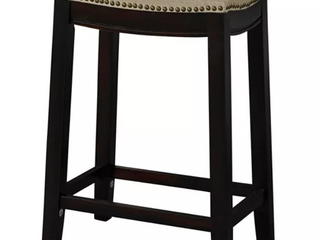 Copper Grove Barmstedt Counter Stool w  Saddle Seat