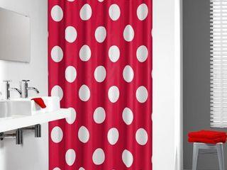 Sealskin Polka Single Shower Curtain