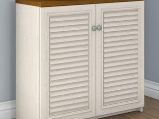 Bush Furniture Fairview Small Storage Cabinet w  Doors