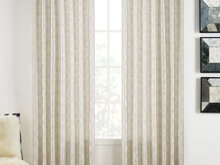 SureFit Home Decor Warsa Pocket Rod Drapery Panel Pair