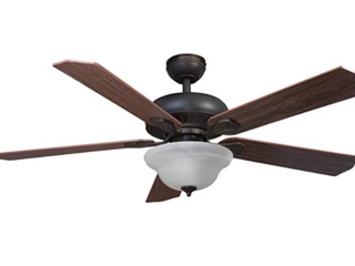 Harbor Breeze Tidebrook 52 in Oil rubbed Bronze led Indoor Ceiling Fan