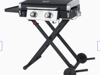 Blue Rhino Razor Portable 2 Burner Griddle