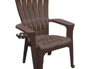 lot of Three  Adams USA Big Easy Adirondack Chair  Brown