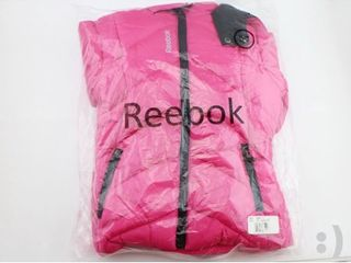 Reebok Children s Puffy Jacket Coat Electric Pink Style   QGH57012   Size 3T