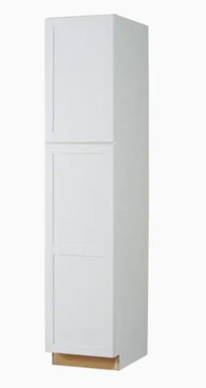 Diamond Now 18  White Utility Cabinet