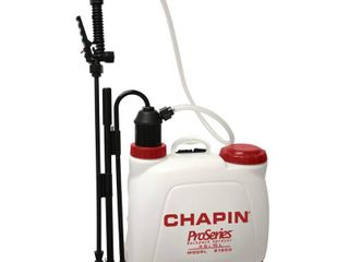 Chapin ProSeries Adjustable Spray Tip Backpack Sprayer 4 gal