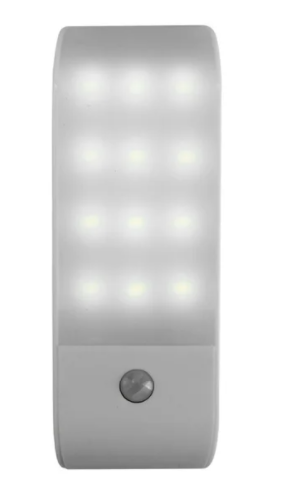 12 lED Rechargeable Motion Sensor light