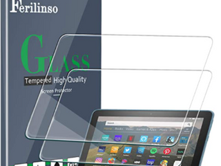 2 Pack Ferilinso Screen Protector All New Fire HD 8  2020  8 Plus  2020