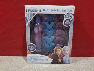 Disney Frozen 2 Bath Tub Toy Tic Tac Toe Game   W  Elsa Anna Body Wash For Kids