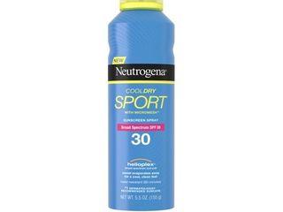 Neutrogena CoolDry Sport Sunscreen Spray SPF 30  5 5 oz