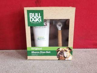 Bulldog Original Skincare Duo Gift Set Shave Gel   Bamboo Razor