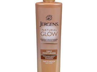 Jergens Natural Glow Daily Moisturizer Fair Medium   10oz