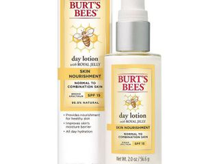 Burt s Bees Skin Nourishment Day lotion  SPF 15 for Normal to Combo Skin  2 Ounces