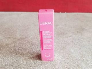 lierac Hydra Chrono levres Transparent Silky lip Balm Baume 0 1oz