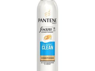 Pantene Pro V Classic Clean Foam Conditioner  6 oz