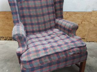 Vintage Wingback Arm Chair