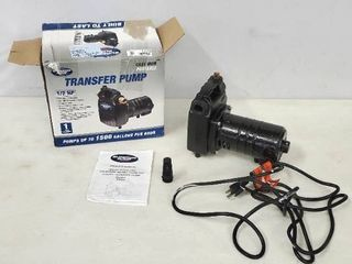 Cast Iron Transfer Pump 1 2 HP  Cast Iron Pumps Up To 1500 gallons per hour