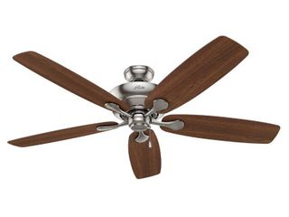 Hunter Regalia Ii 60 in Brushed Nickel led Indoor Ceiling Fan With light Kit
