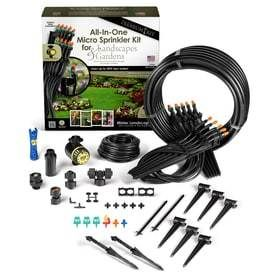 Mister landscaper Premium All In One Micro Sprinkler Kit for landscape   Gardens