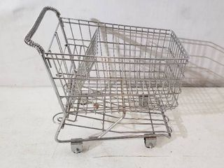 Tiny Shopping Cart 12 l x 10 H x 7 W