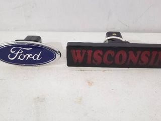 Receiver Hitch Cover  Ford  light  Wisconsin