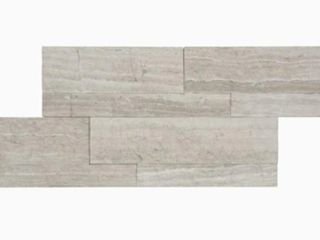 Set Of 2 Satori Mystery ledgestone 6 in x 12 in Natural Natural Stone Marble Wall Tile