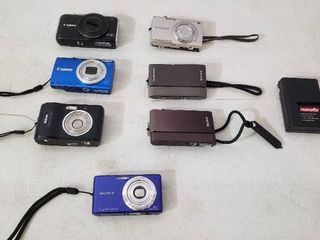 Digital Cameras  Total of 7 w One charger