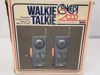 Old Skool Walkie Talkie Set