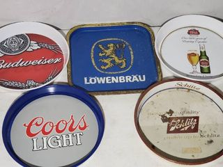 Beer Trays  5 Total  Mancave