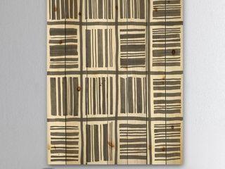 Designart  Minimalist Graphics I  Transitional Print on Natural Pine Wood   Black Retail 137 49