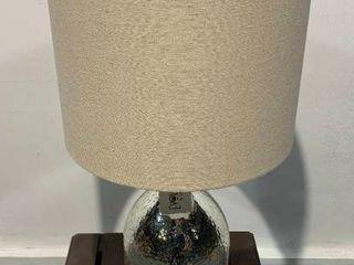 leo 27 5  Glass Metal Table lamp