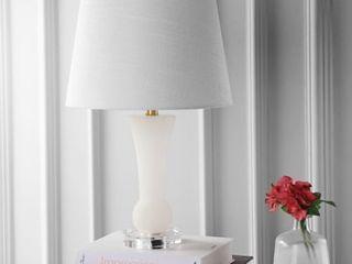 Eliza 23  Alabaster lED Table lamp  Crystal Base by JONATHAN Y Retail 111 49