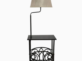 Allen   Roth magazine rack lamp Retail  79 98