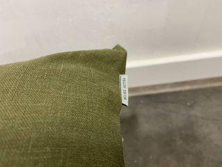 Pillow Decor    2  Tuscany linen Fig Green 20x20 Throw Pillow  Retail  69