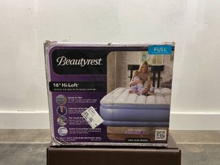 Simmons Beautyrest Full Hi loft Inflatable Air Mattress Retail 106 99