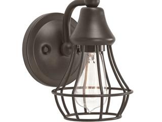 Kichler Bayley 1 light Wall Sconce  light bulb missing  Retail   42 00