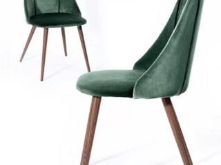 Carson Carrington Falkskog Fabric Side Chair  Set of 2  Retail 127 49