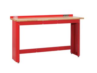 Craftsman 6 foot wide workbench with Butcher Block Top