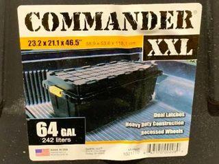 Commander XXl 64 gallon crate