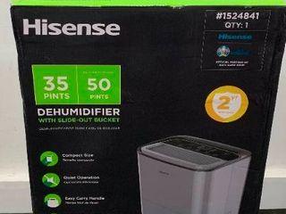 hisense 35 pints dehumidifier