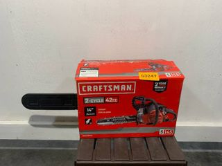 Craftsman to cycle 42CC 14 inch chainsaw