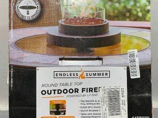 Endless summer outdoor fireplace gas propane