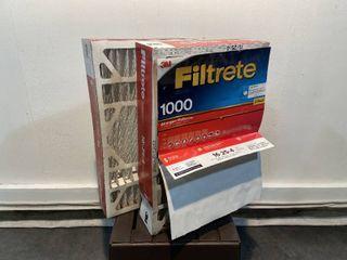 3M Filttrete 1000  Electrostatic Air Filters  Retail  40 00