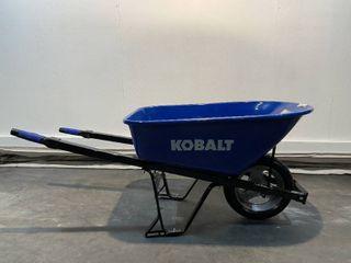 Kobold 6 cu ft Heavy Duty Wheelbarrow  Retail  90 00