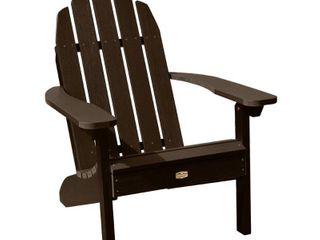ElK OUTDOORS Essential Eco Friendly Adirondack Chair  Retail 258 99 BlUE IN COlOR